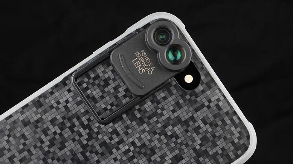 Kamerar ZOOM. Чехол с фотолинзами для iPhone 7 Plus