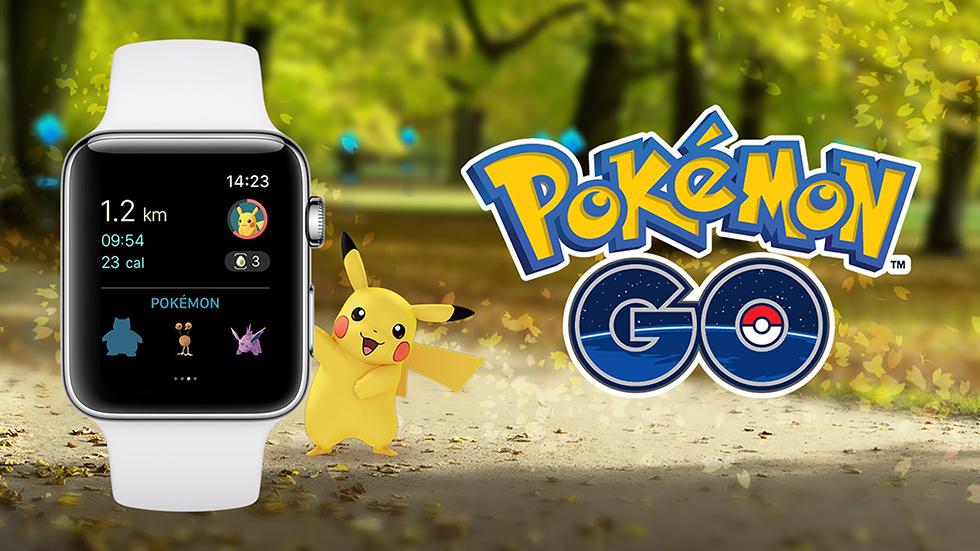 Pokemon GOвышла наApple Watch