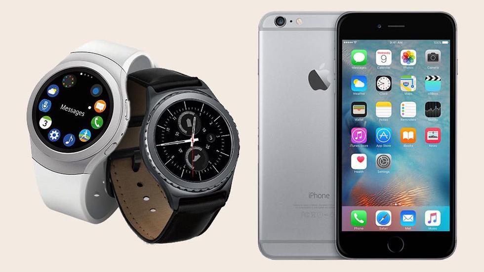 Samsung Gear S2, Gear S3иGear Fit 2подружились сiPhone