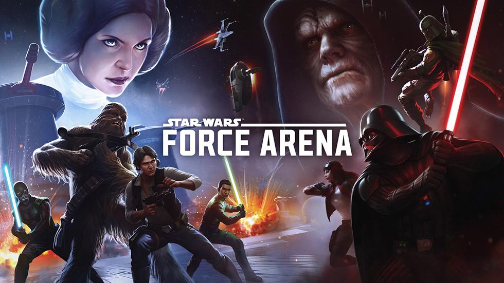 Вигре «Звездные Войны: Арена Силы» большая раздача подарков