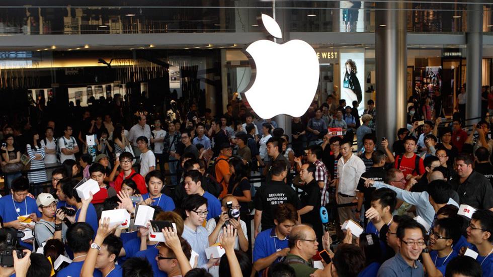 Китайские производители смартфонов вытесняют Apple сосвоего рынка