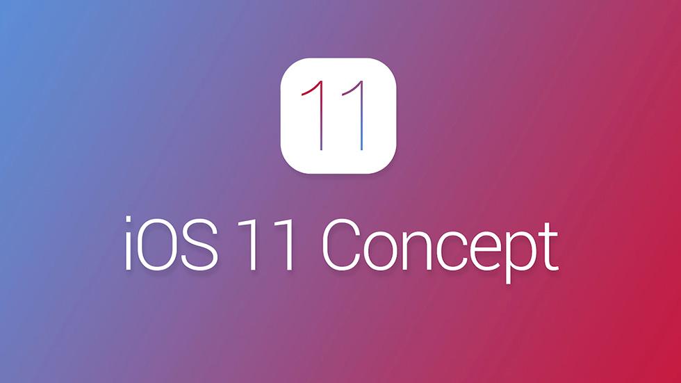 В новом концепте iOS 11показаны все самые ожидаемые функции системы