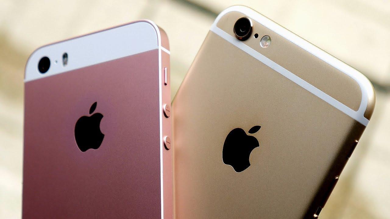 iPhone SE vs iPhone 6: что купить