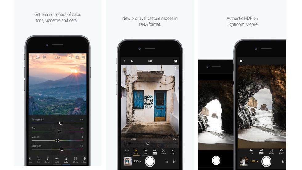 iOS-приложение Adobe Lightroom теперь умеет снимать RAW-снимки