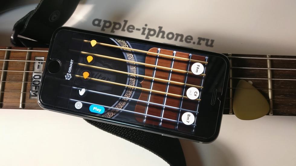Обзор Real Guitar. Три в одном: простой симулятор гитары, развлекательная обучалка и гитарная игра