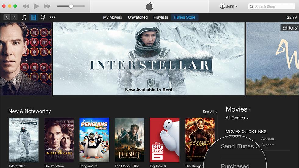 Как добавить фильм в iTunes