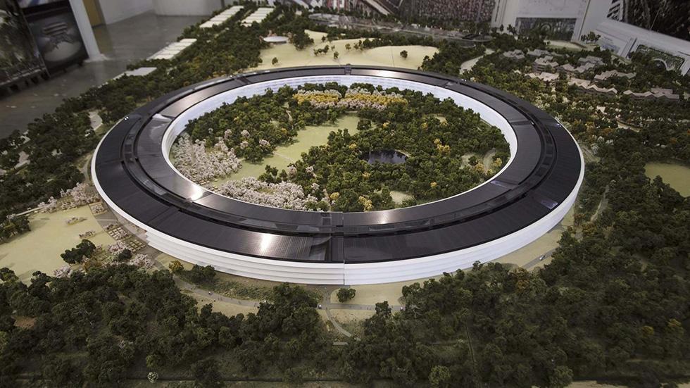 На новый кампус Apple теперь можно посмотреть в Google Картах