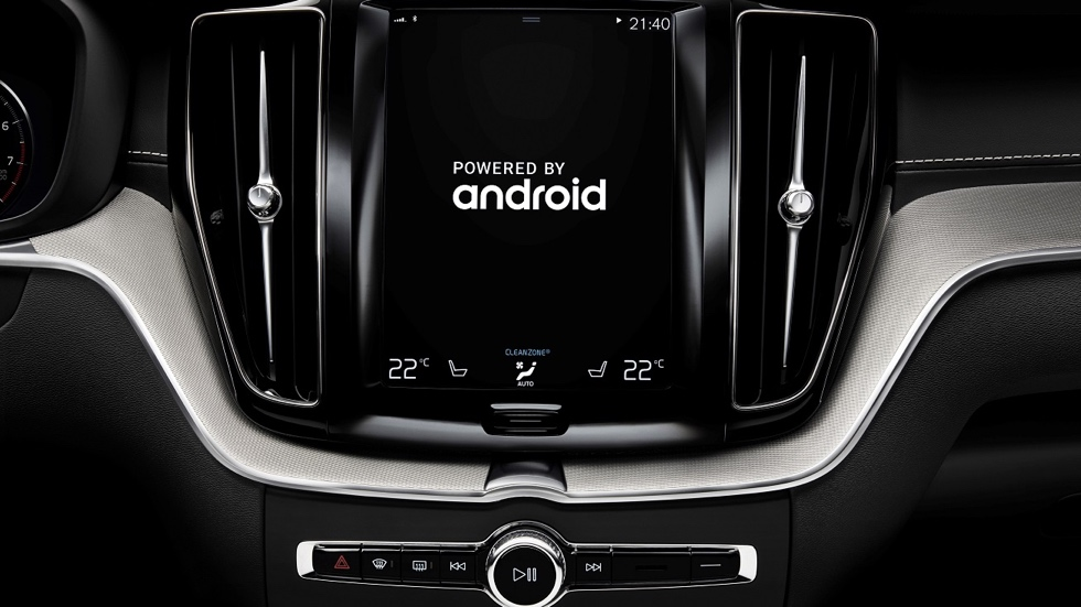 Volvo и Google создадут автомобиль на Android