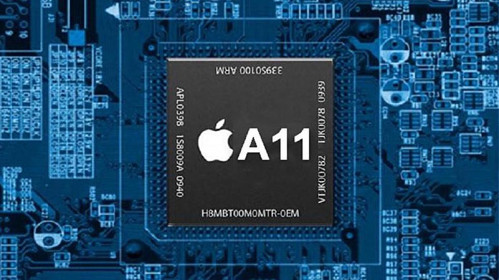 Началось производство чипа Apple A11 для iPhone 8