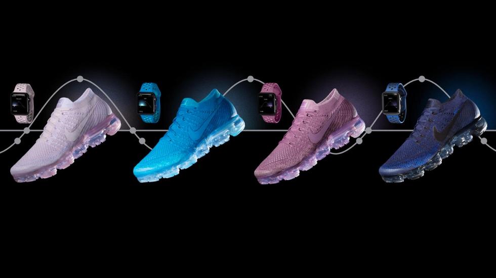 Nike аннонсировала ремешки для Apple Watch в цвет кроссовок