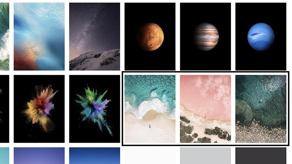 Новые обои iOS 10.3.3 beta 1намекнули наанонс 10,5-дюймового iPad Pro