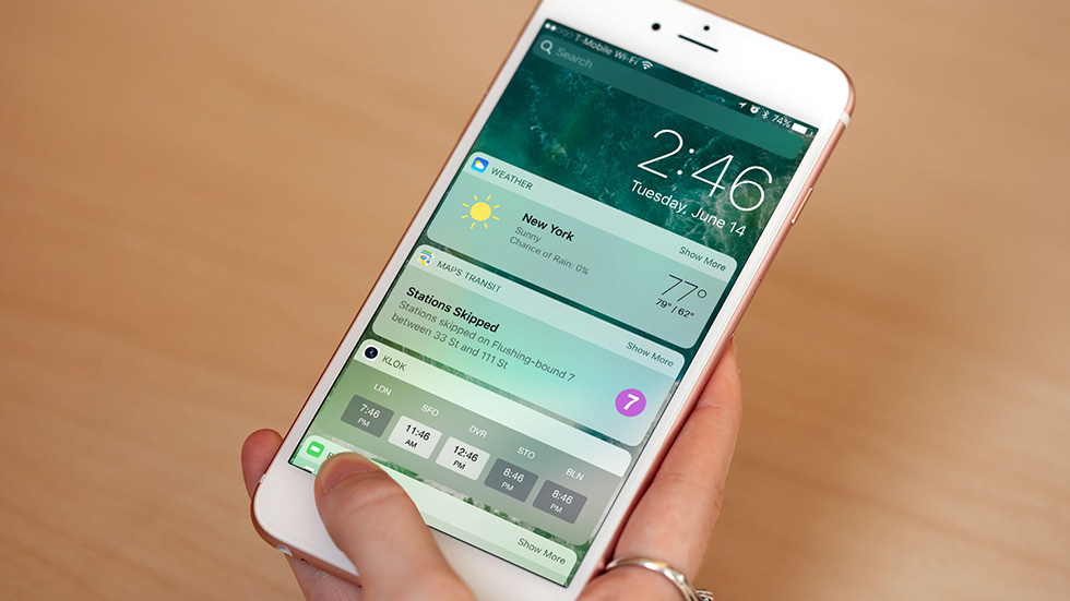 Apple выпустила финальную версию iOS 10.3.3
