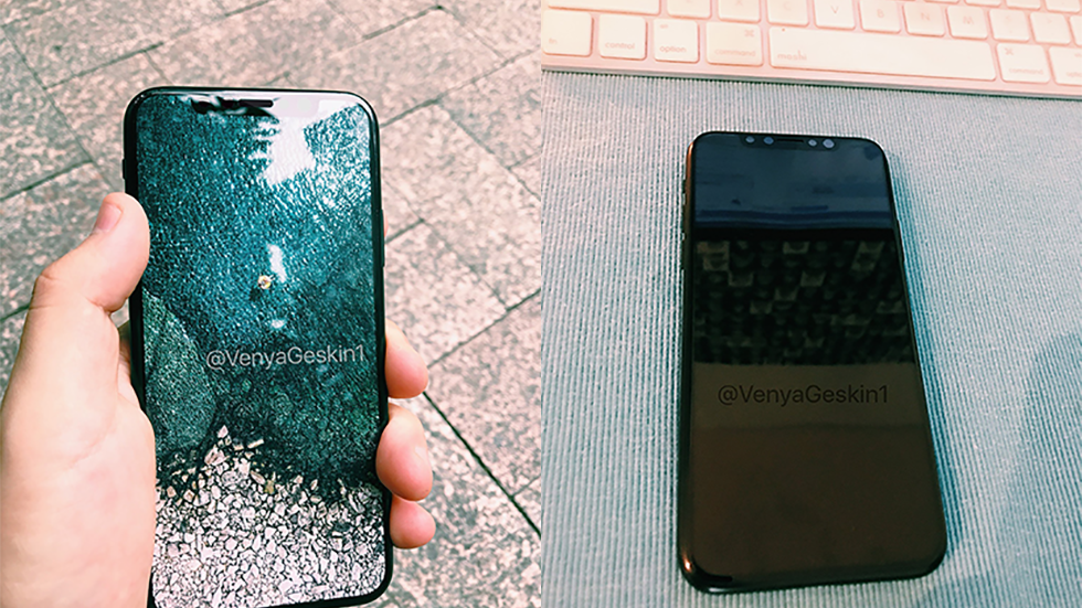 Как будет выглядеть iPhone 8с включенным экраном (видео)