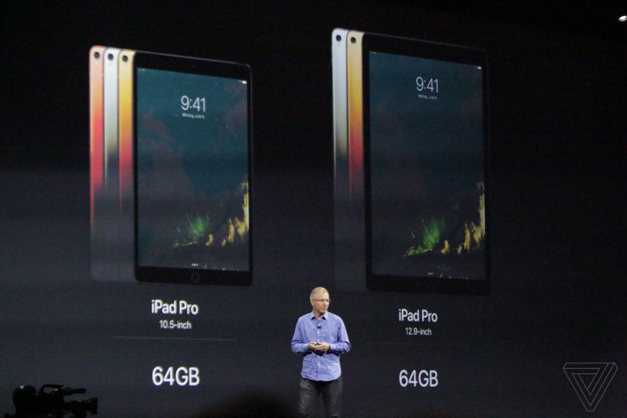 Apple представила iPad Pro с10,5-дюймовым дисплеем