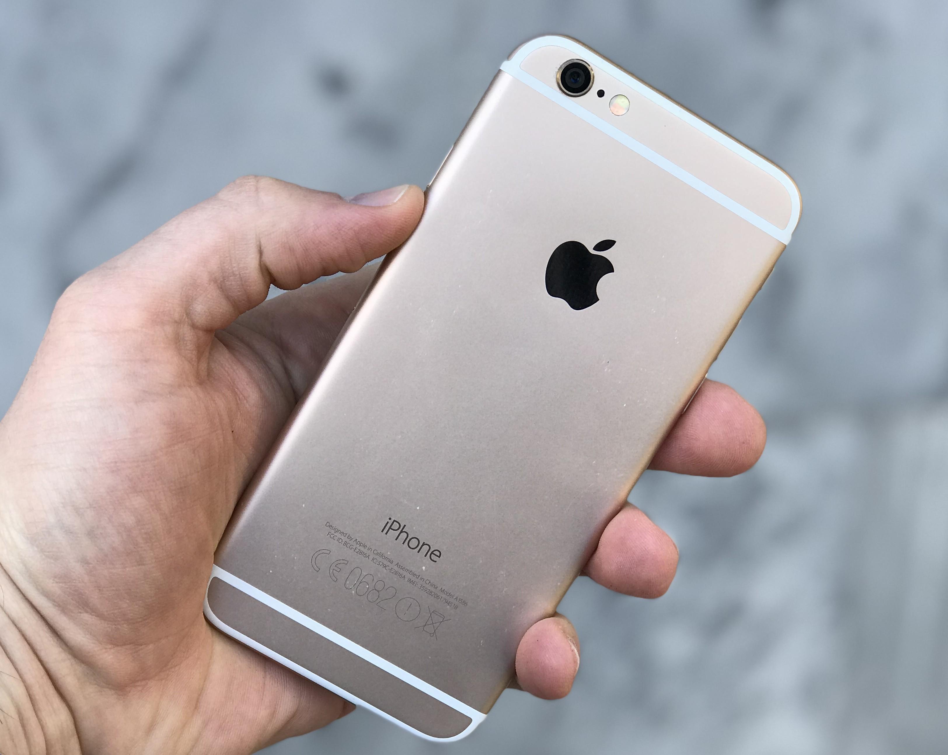 iPhone 6и6Plus— сравнение