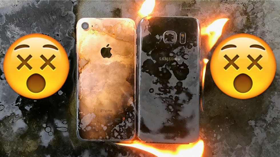 iPhone 7, Galaxy S8, Pixel XL и микроволновка — кто выживет?