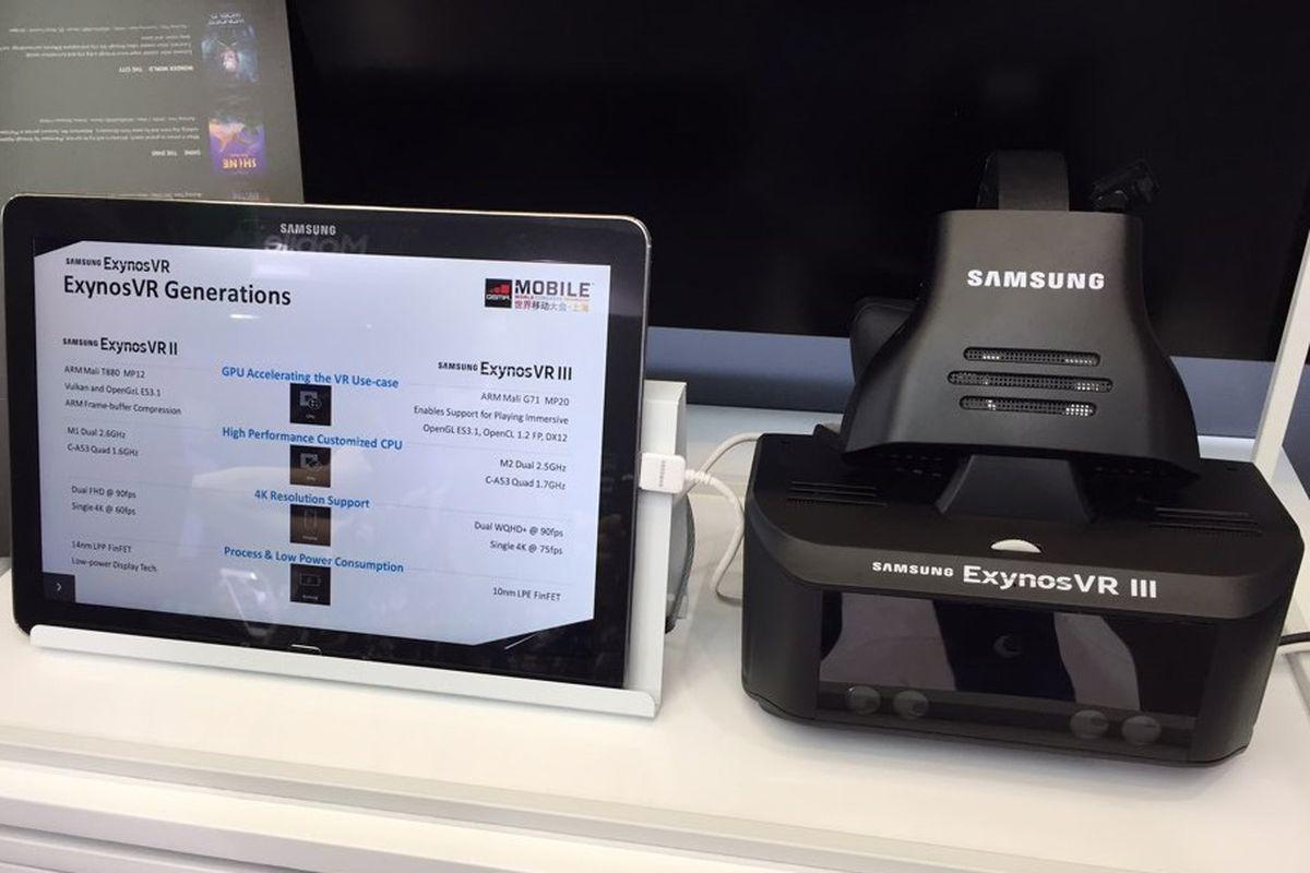Секретная гарнитура виртуальной реальности Samsung имеет отслеживание движения взгляда ирук (фото)