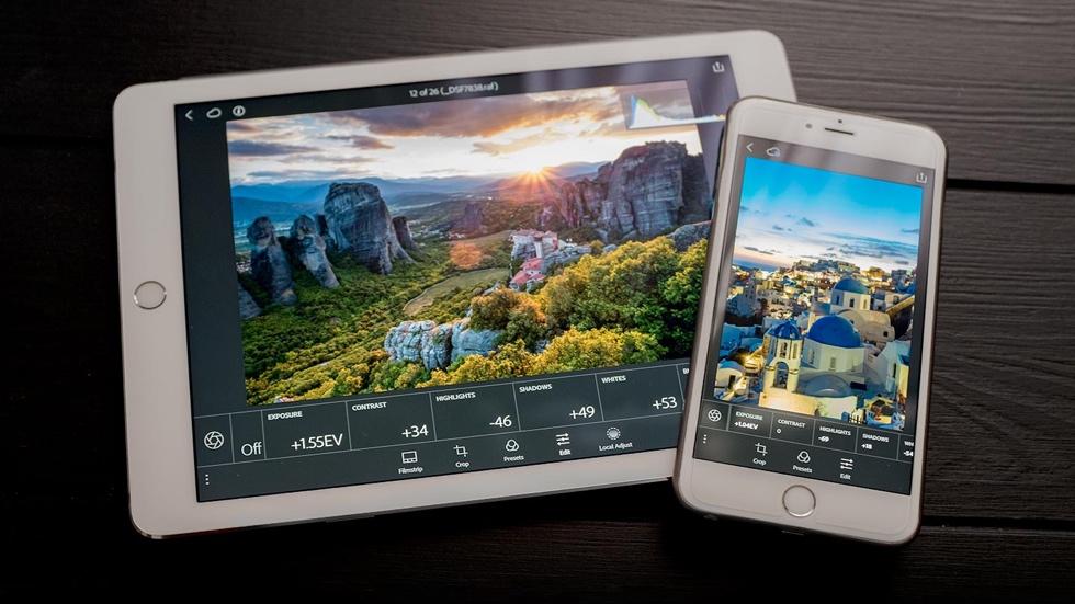 Adobe Lightroom для iOS теперь с поддержкой Apple Pencil и 3D Touch