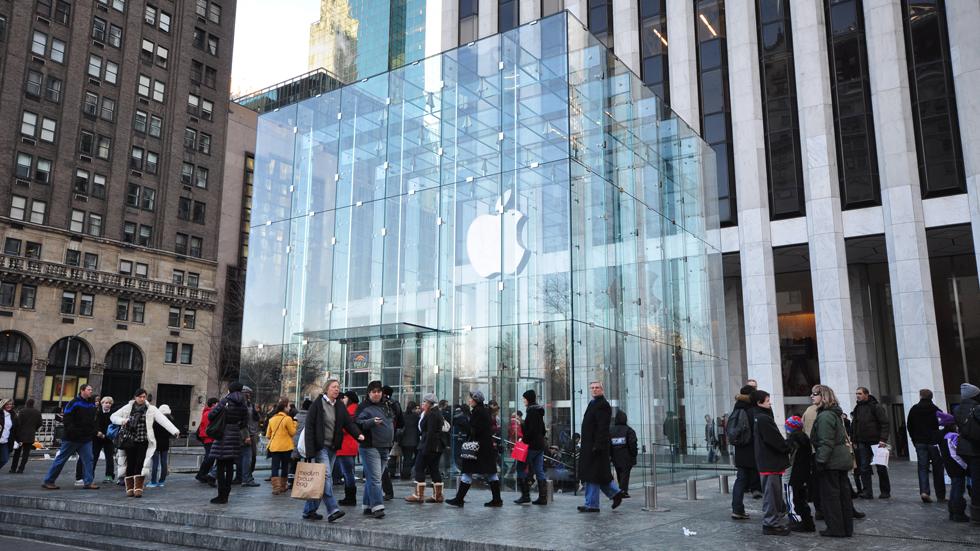 Apple Store 5-ой авеню откроется после ремонта в октябре 2018