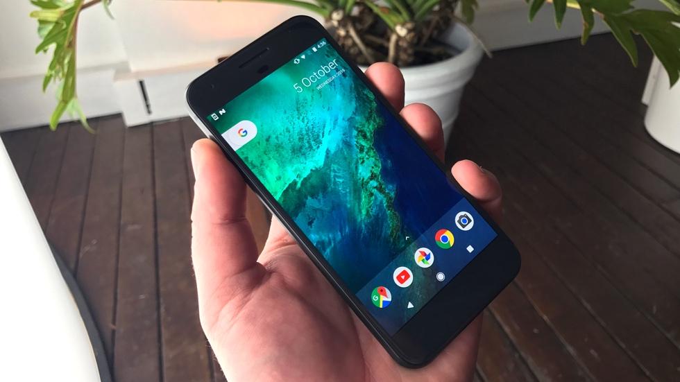 Некоторые Google Pixel XL внезапно обновились на Android 8