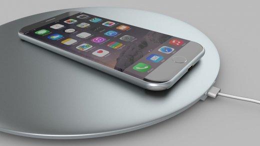 Док-станция для беспроводной зарядки iPhone 8будет круглой (фото)