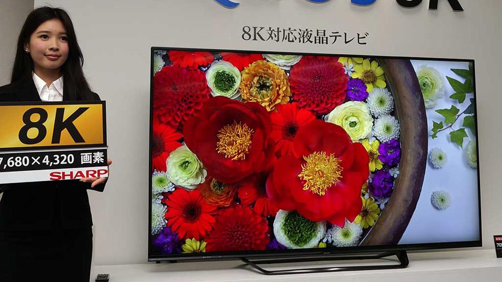 Sharp представила 8K-телевизор с диагональю 70 дюймов