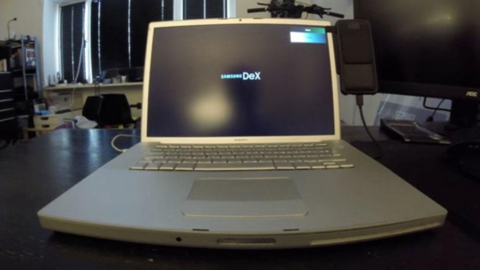 Энтузиаст превратил старый MacBook Pro в док-станцию Samsung DeX