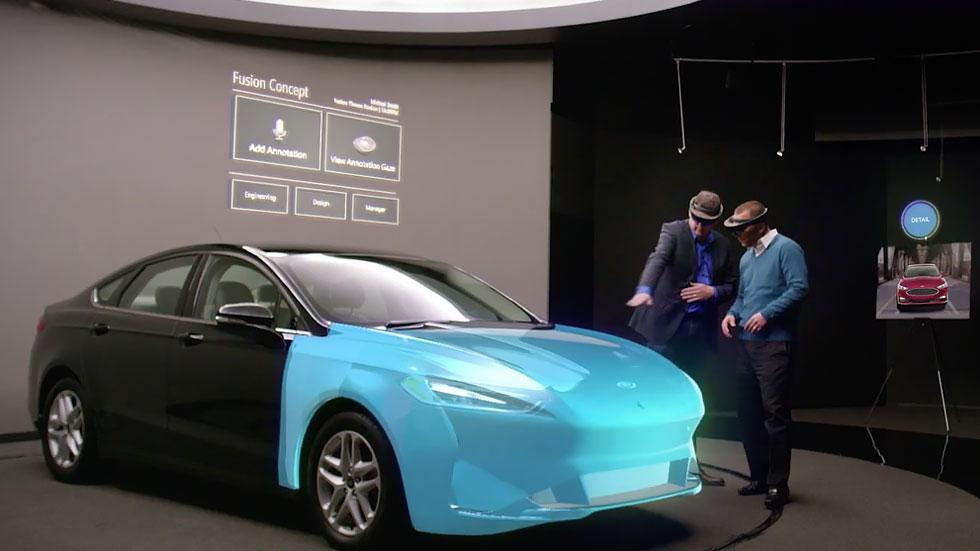 Для создания дизайна автомобилей Ford использует гарнитуру Microsoft HoloLens