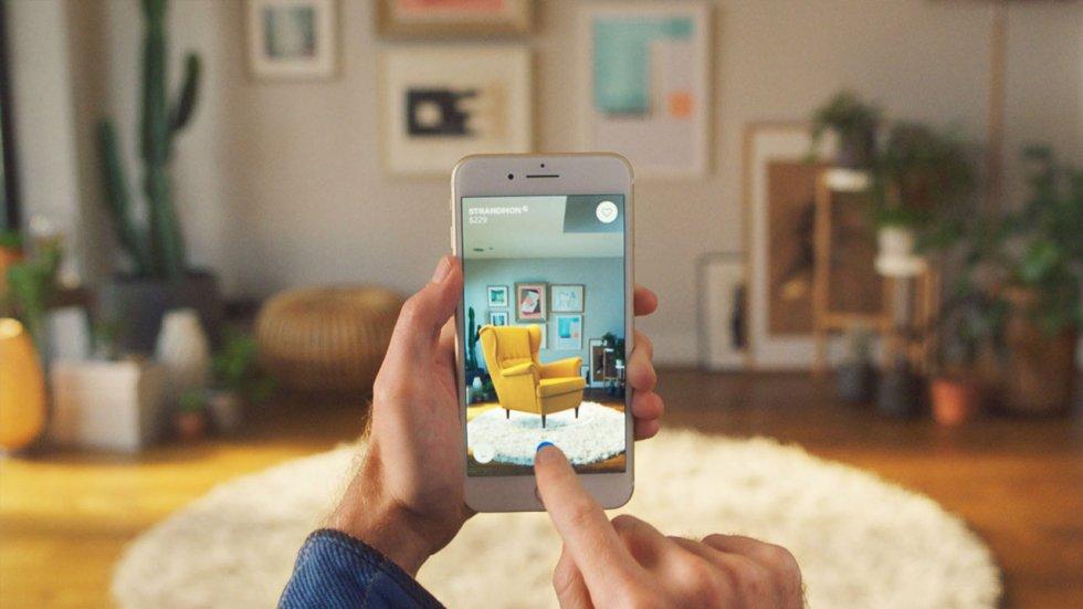 IKEA выпустила приложение IKEA Place — примеряй мебель с помощью iPhone
