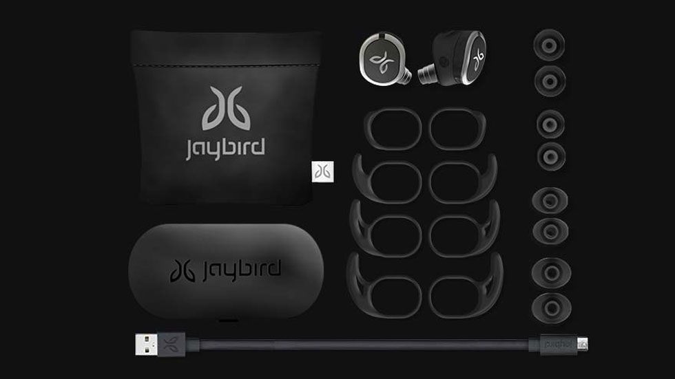 Jaybird выпустила премиальные беспроводные наушники для спорта Jaybird RUN