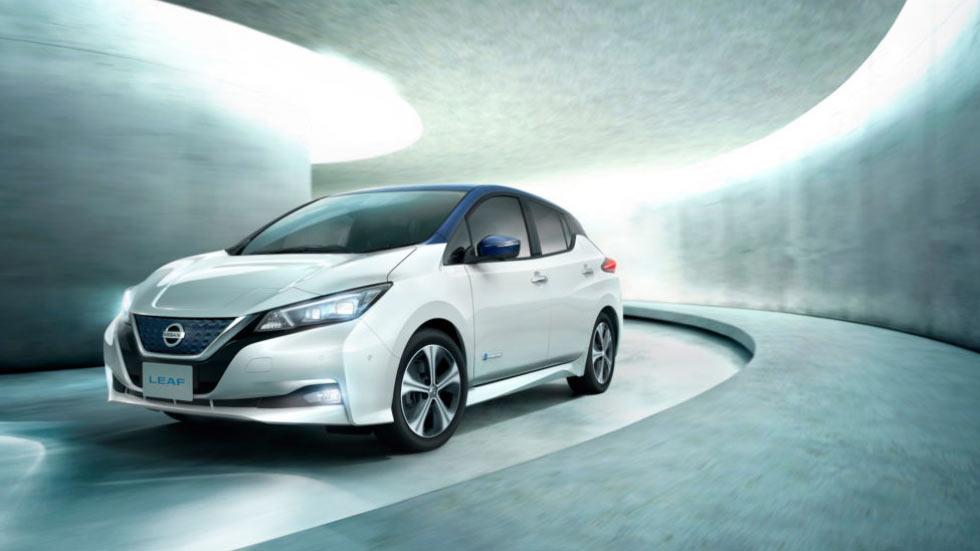 Представлен обновленный Nissan Leaf 2018