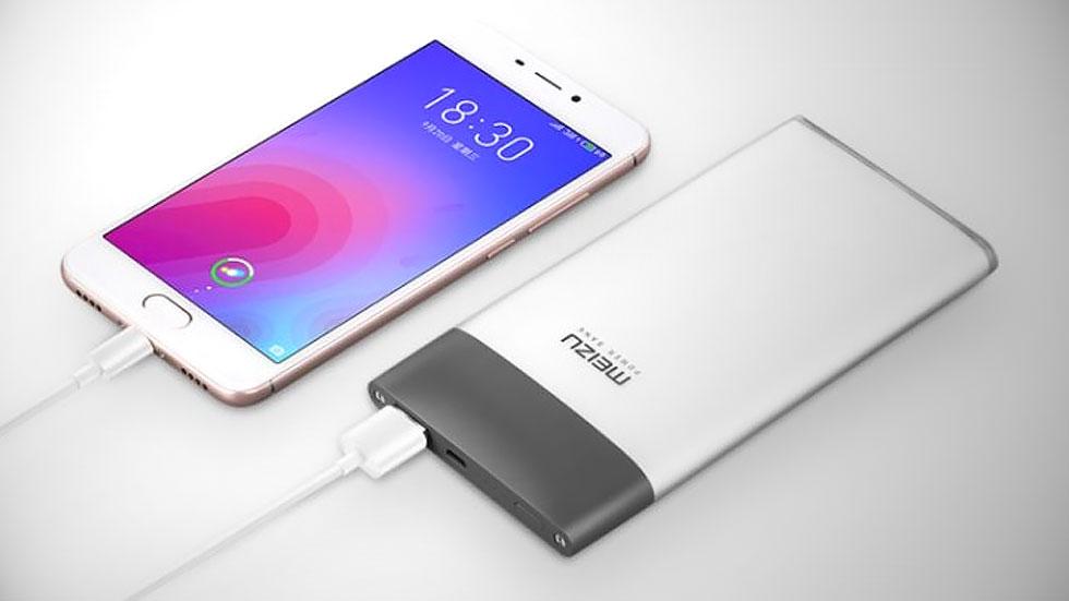Meizu выпустила портативный аккумулятор M20 с двусторонней быстрой зарядкой. Стоит $25
