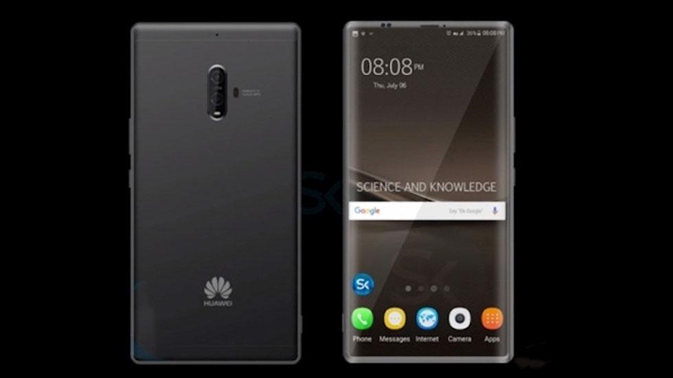 В Сети опубликован снимок Huawei Mate 10 с «настоящим искусственным интеллектом»