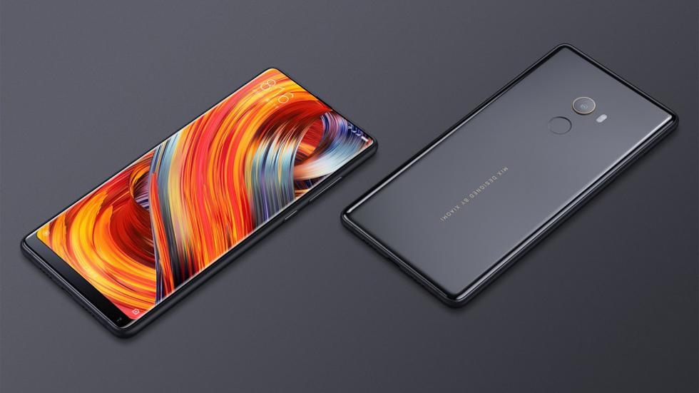 Xiaomi представила безрамочный Mi Mix второго поколения (фото)