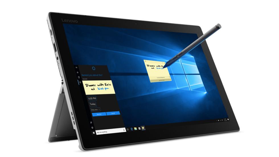 Lenovo представила трансформер, похожий на Microsoft Surface