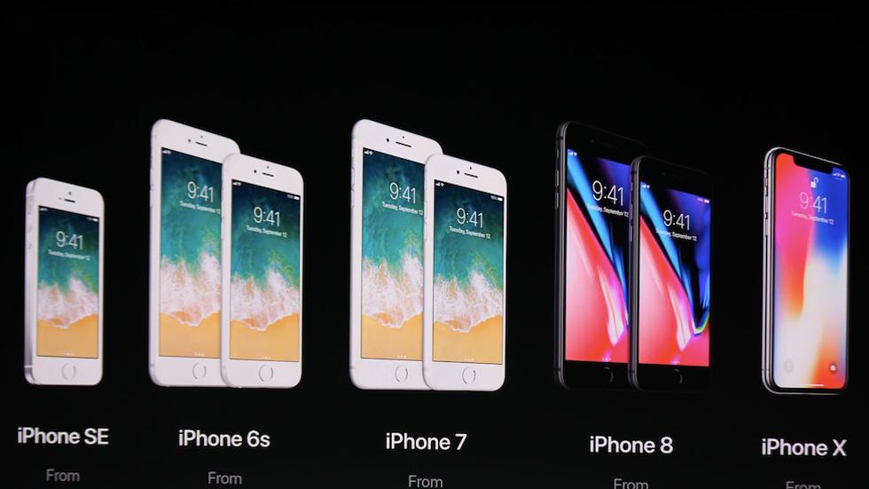 Apple снизила цены на iPhone SE, iPhone 6s и iPhone 7