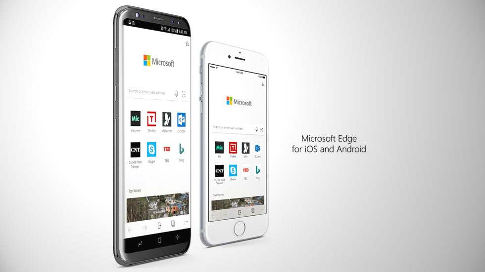 Microsoft выпустила бета-версию браузера EDGE для iOS