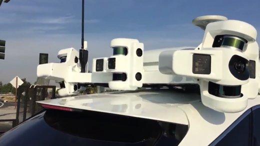 Систему автопилотирования отApple показали навидео