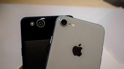 Сравнение характеристик iPhone X, iPhone 8, iPhone 8 Plus, Pixel 2 и Pixel 2 XL (таблица)