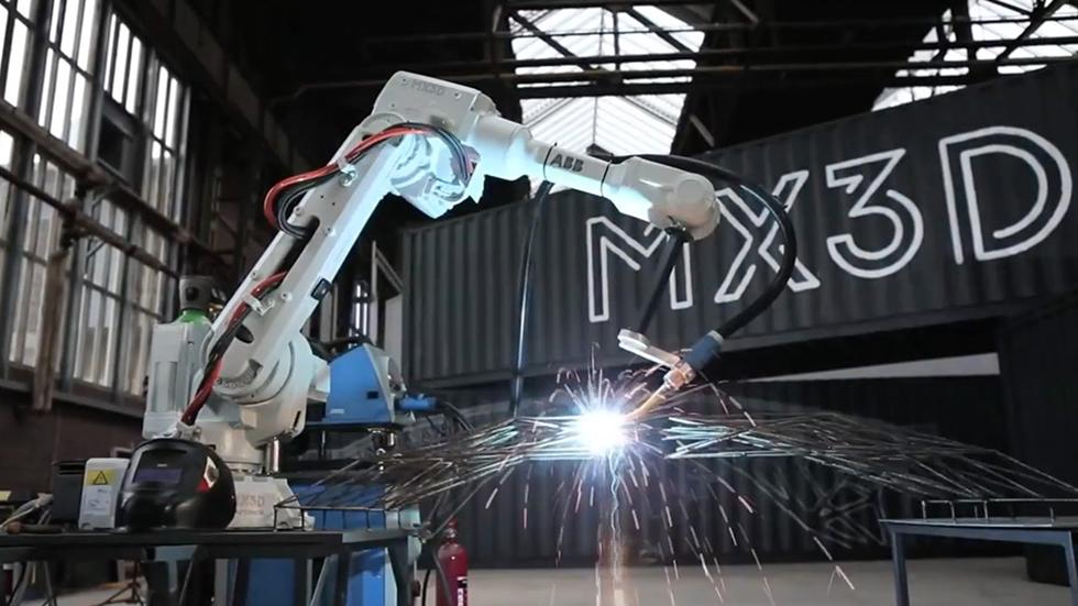 Вэксплуатацию введен мост, напечатанный на3D-принтере