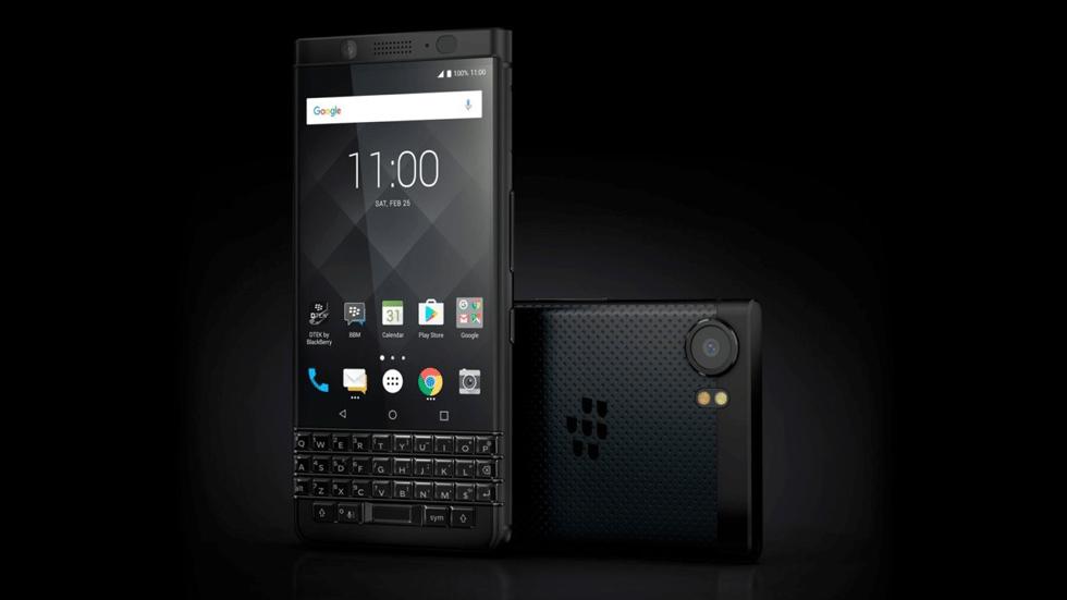 BlackBerry работает над новым смартфоном с физической клавиатурой