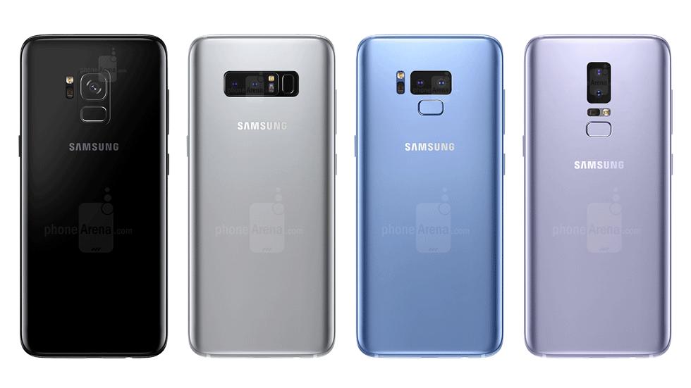 У флагманов Samsung будет новый дизайн задней панели и удобный сканер отпечатков пальцев