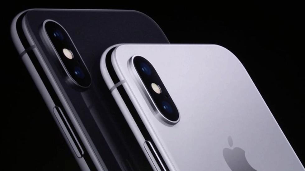 iPhone X показали на шпионском видео за месяц до официального релиза