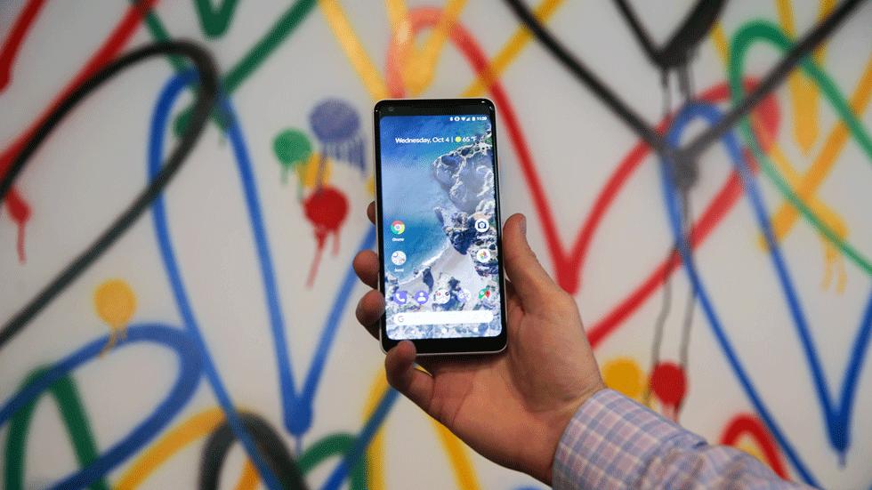 У Google Pixel 2 XL выгорает дисплей
