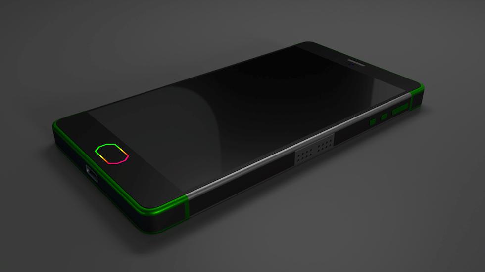 Инсайдеры опубликовали первый шпионский снимок Razer Phone
