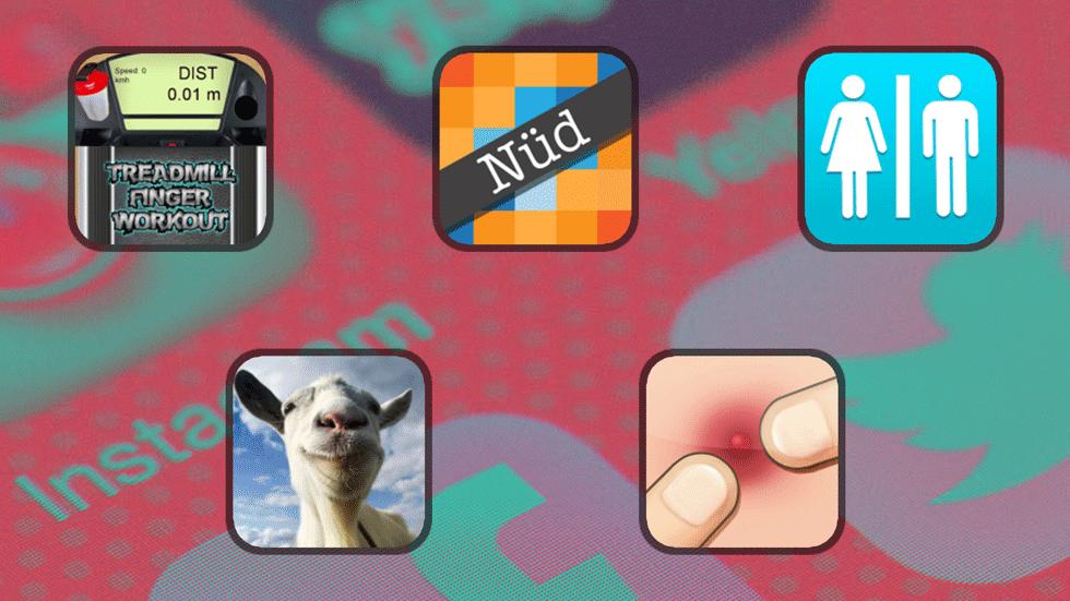5 самых странных и бесполезных приложений из App Store