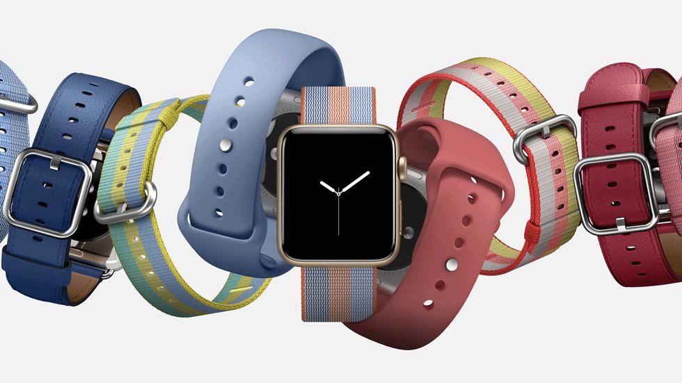 Apple Watch могут получить самозатягивающийся ремешок