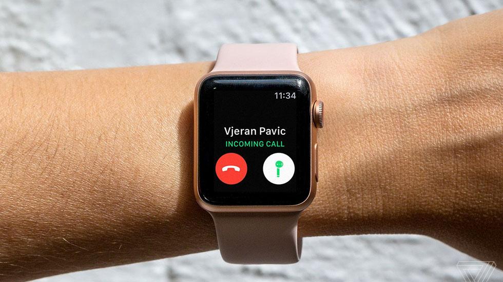 В смарт-часах Apple Watch Series 3 обнаружены проблемы с экраном