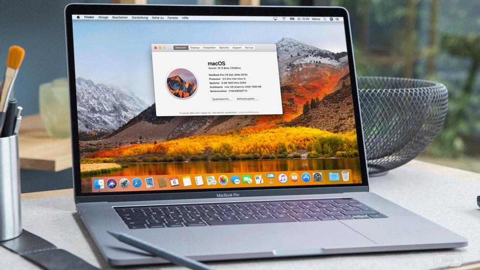 Вчерашнее обновление macOS High Sierra содержит баг. Как его устранить