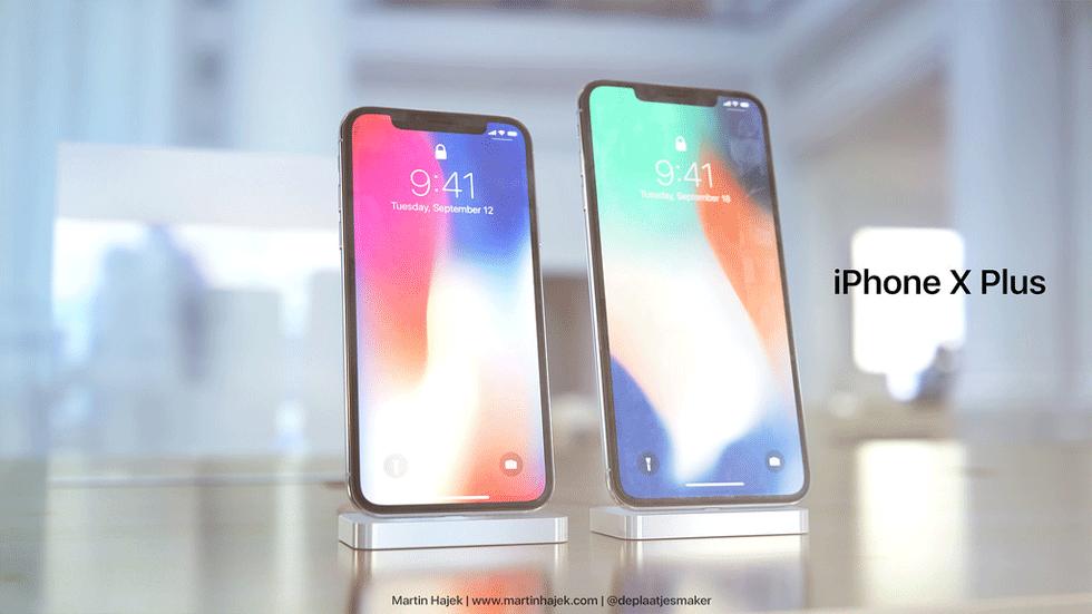 Так мог бы выглядеть iPhone X Plus (фото)